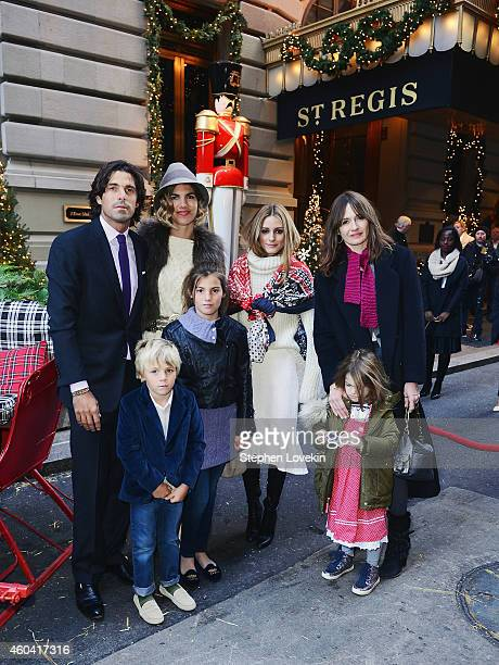 Professional Polo player Nacho Figueras Artemio Figueras Delfina Blaquier Aurora Figueras socialite Olivia Palermo actress Emily Mortimer and May...