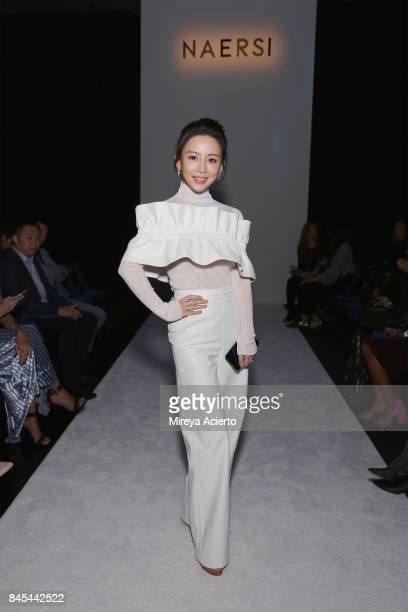 Xiaoting pan stock photos and pictures getty images for Pool fashion show