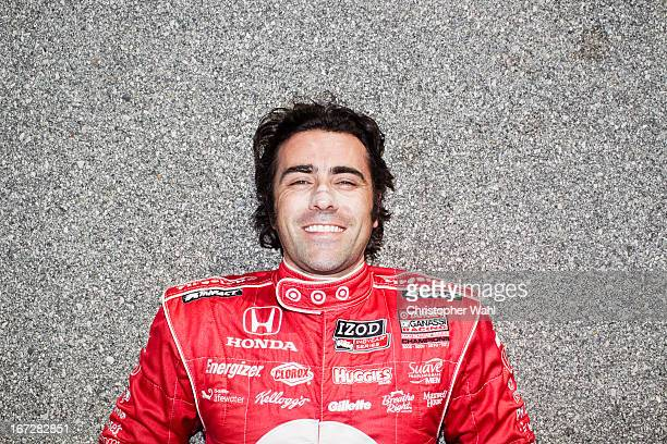 Professional race car driver Dario Franchitti is photographed for Sportsnet on March 11 2013 in Birmingham Alabama