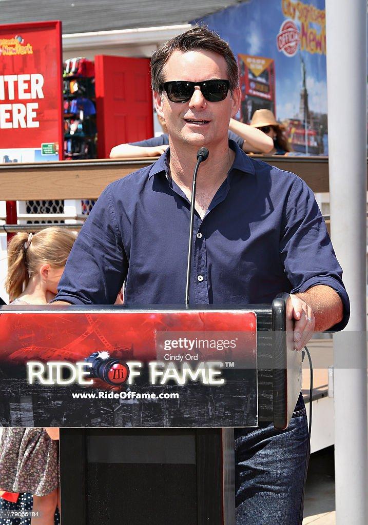Ride Of Fame Immortal Honoree Ceremony - Jeff Gordon : News Photo