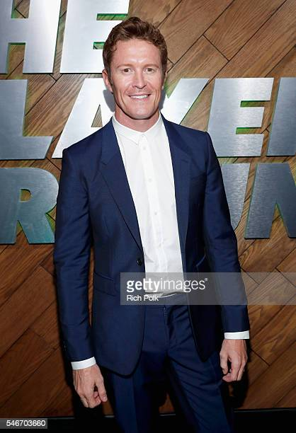 Professional race car driver Scott Dixon attends The Players' Tribune Summer Party at No Vacancy on July 12 2016 in Los Angeles California