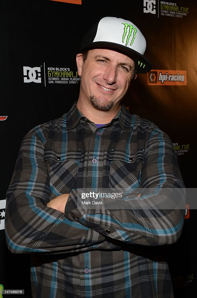 Professional rally driver Ken Block attends the premiere Of The Gymkhana FIVE held at the JW Marriot Mixing room at L.A. Live on June 29, 2012 in Los Angeles, California.