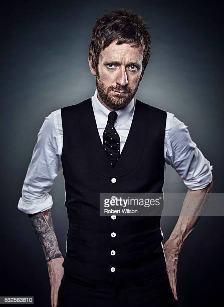 Professional road and track racing cyclist Bradley Wiggins is photographed for The Times on November 3 2015 in London England