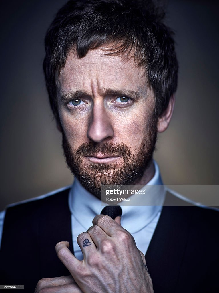 Professional road and track racing cyclist Bradley Wiggins is photographed for The Times on November 3, 2015 in London, England.