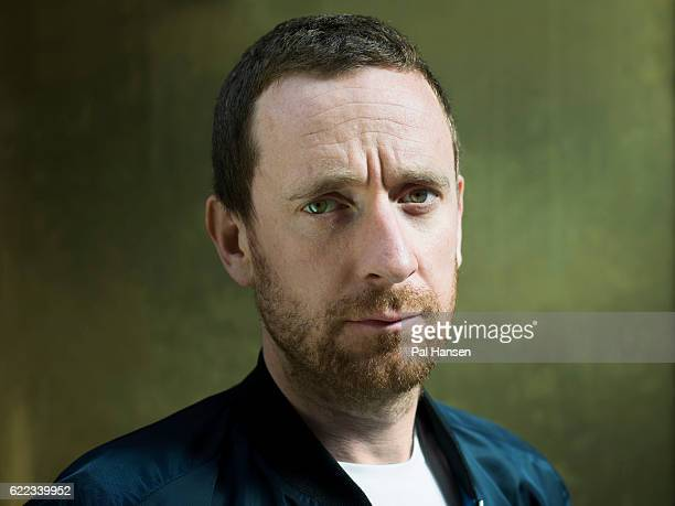 Professional road and track racing cyclist Bradley Wiggins is photographed for the Guardian on August 18 2016 in London England