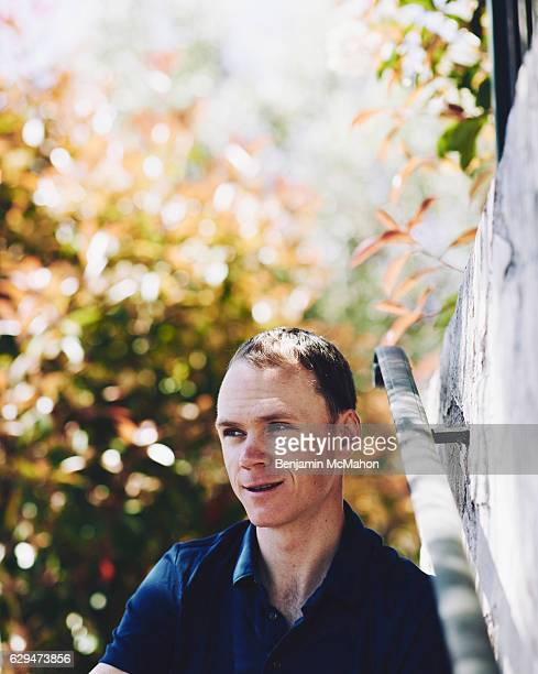 Professional road racing cyclist Chris Froome is photographed for the Telegraph magazine on May 3 2016 in Monaco Monaco