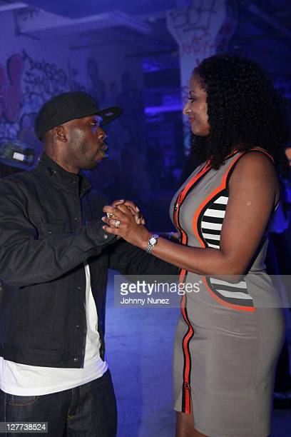Professional skateboarder and founder of DGK Skateboards Stevie Williams and cosmetic surgeon and founder of Opoulence Aesthetic Medicine Nedra Dodds...