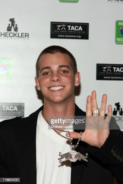 Professional skateboarder and television personality Ryan Scheckler attends Down For Life Fight For A Cause hosted by Ryan Sheckler at the Grove of...