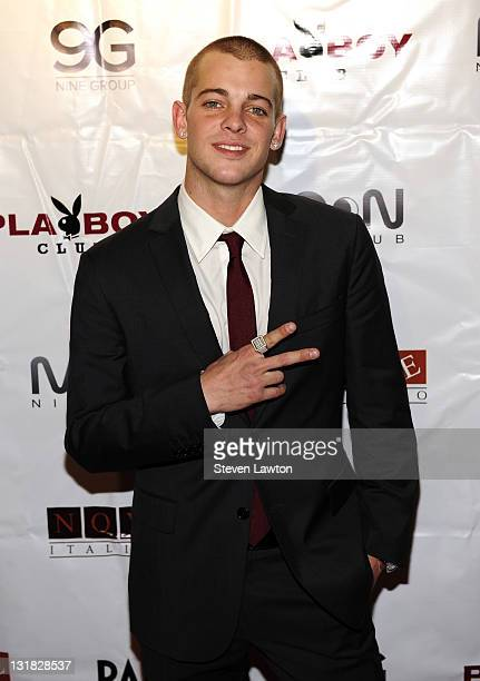 Professional skateboarder Ryan Sheckler arrives to celebrate his 21st birthday at Moon Nightclub at The Palms Resort Casino on December 30 2010 in...