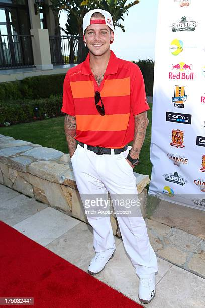 6th Annual Ryan Sheckler Celebrity Golf Tournament Stock Photos And