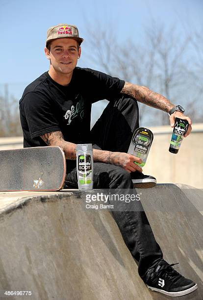 Professional skateboarder Ryan Sheckler partners with the Gillette BODY razor to help guys get #BODYREADY for summer at Chelsea Piers on April 24...