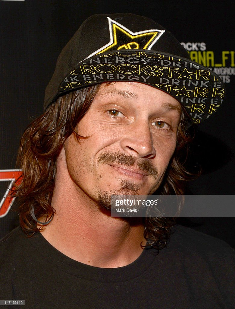 Professional skateborder Bucky Lasek attends the premiere Of The Gymkhana FIVE held at the JW Marriot Mixing room at L.A. Live on June 29, 2012 in Los Angeles, California.