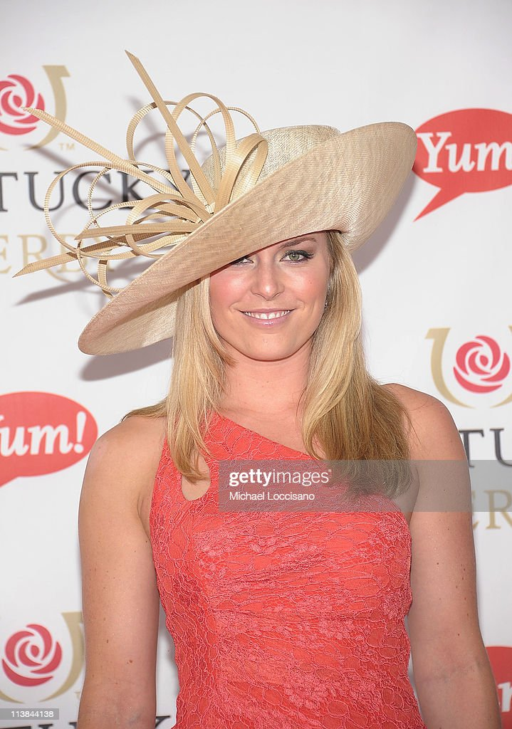 Professional Skier Lindsey Vonn attends the 137th Kentucky Derby at Churchill Downs on May 7, 2011 in Louisville, Kentucky.