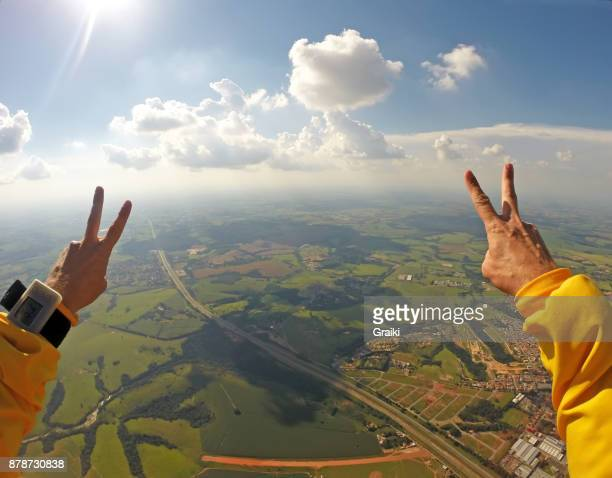 Professional Skydiver point of view