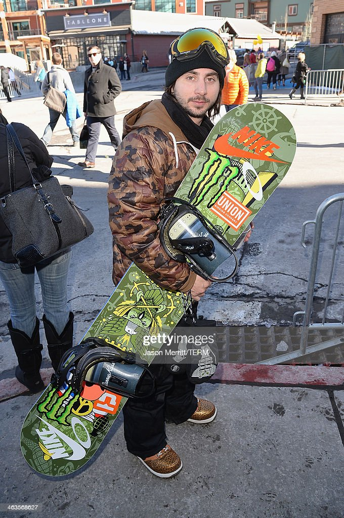 Professional snowboarder Danny Kass attends Day 2 of Oakley Learn To Ride With AOL At Sundance on January 18, 2014 in Park City, Utah.