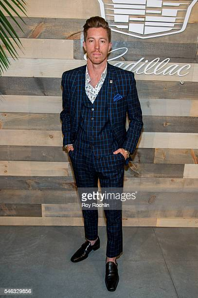 Professional snowboarder Shaun White attends CFDA x Cadillac Opening Night Party of New York Fashion Week Men's S/S 2017 at Cadillac House on July 11...