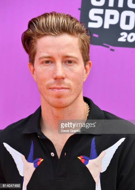 Professional snowboarder Shaun White attends Nickelodeon Kids' Choice Sports Awards 2017 at Pauley Pavilion on July 13, 2017 in Los Angeles,...