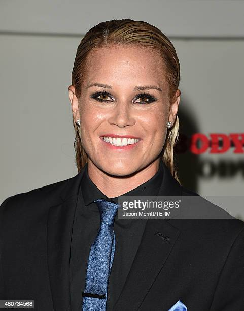 Professional soccer player Ashlyn Harris attends BODY at ESPYs at Milk Studios on July 14 2015 in Hollywood California