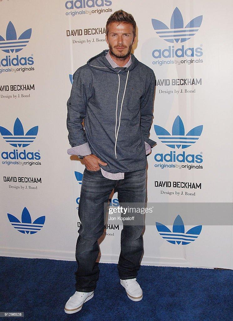 David Beckham E James Bond Adidas Originali Party Di Lancio Los