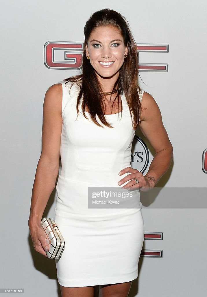 Professional soccer player Hope Solo attends ESPN the Magazine 5th annual 'Body Issue' party at Lure on July 16, 2013 in Hollywood, California.