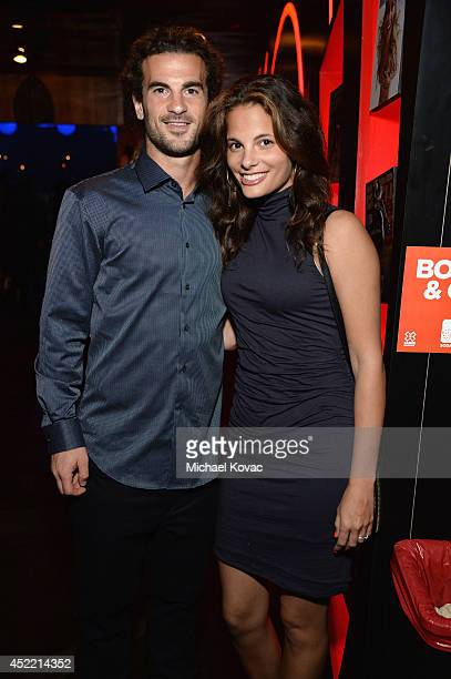 Professional soccer player Kyle Beckerman and Kate Pappas attend the Body at ESPYS PreParty at Lure on July 15 2014 in Hollywood California