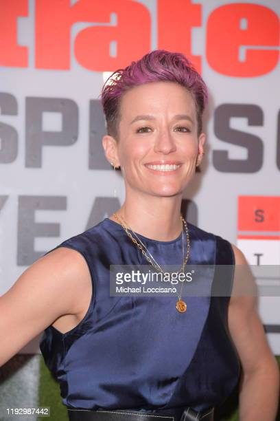 Professional Soccer Player Megan Rapinoe attends the 2019 Sports Illustrated Sportsperson Of The Year at The Ziegfeld Ballroom on December 09 2019 in...