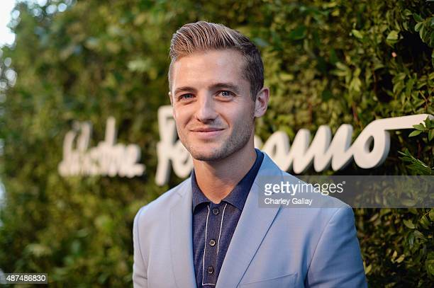 Professional soccer player Robbie Rogers attends as Ferragamo Celebrates 100 Years in Hollywood at the newly unveiled Ferragamo boutique on September...