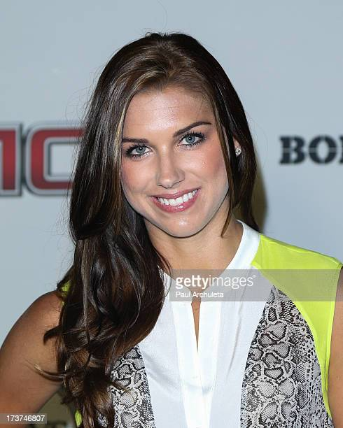 Professional Soccer Players Alex Morgan attends the ESPN's 5th Annual Body At ESPYS at Lure on July 16 2013 in Hollywood California