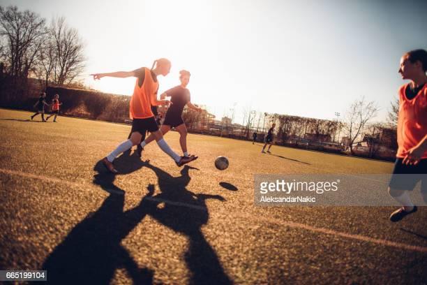 プロのサッカー選手
