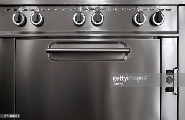 Professional stove.