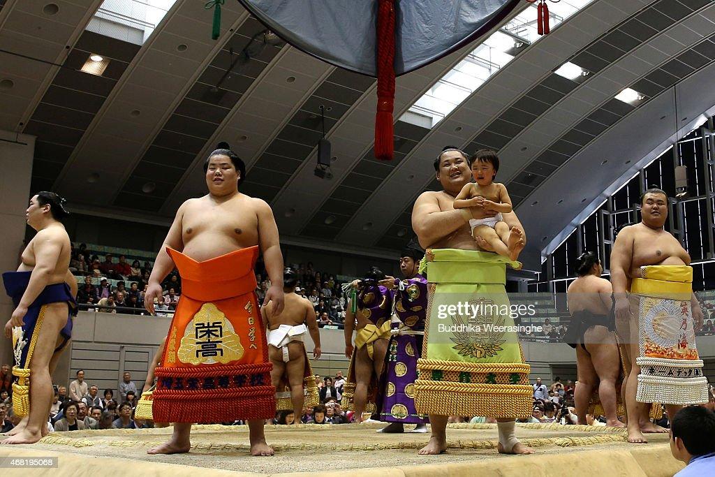Sumo Tournament In Himeji : News Photo
