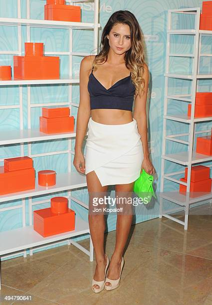Professional surfer Anastasia Ashley arrives at the Step Up 11th Annual Inspiration Awards at The Beverly Hilton Hotel on May 30 2014 in Beverly...