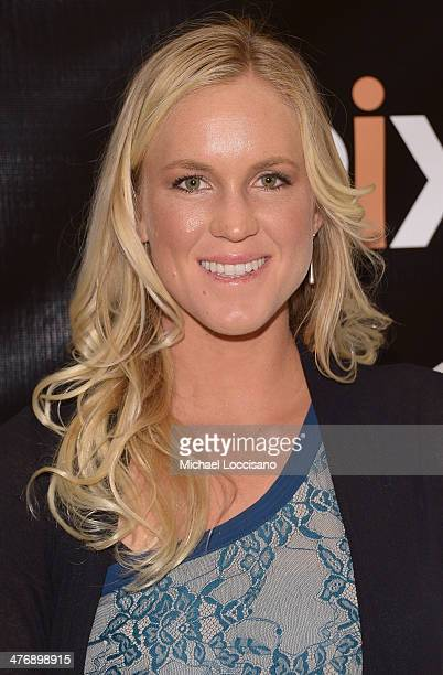 Professional surfer Bethany Hamilton attends the 'The Current' New York series premiere at Times Center on March 5 2014 in New York City
