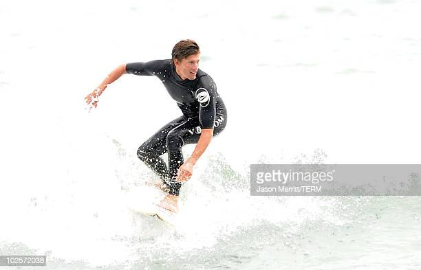 Professional surfer Bruce Irons during the Oakley annual Learn to Ride surf trip fueled by Muscle Milk at Montage Laguna Beach Hotel on June 25 2010...