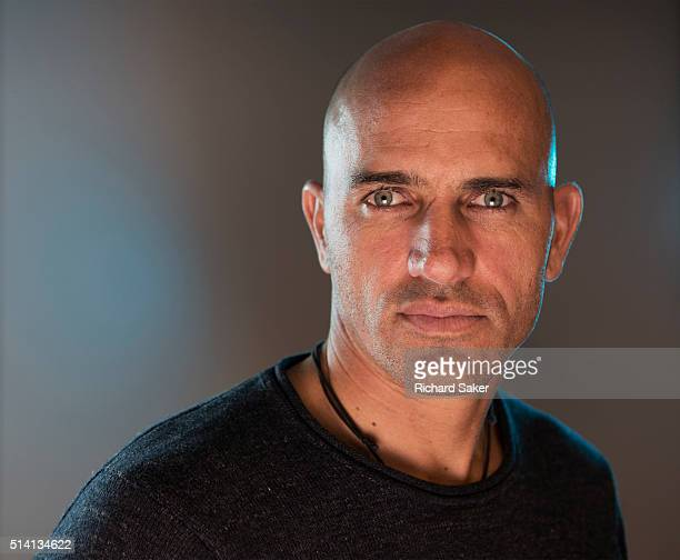 Professional surfer Kelly Slater is photographed for the Observer on November 3 2015 in London England