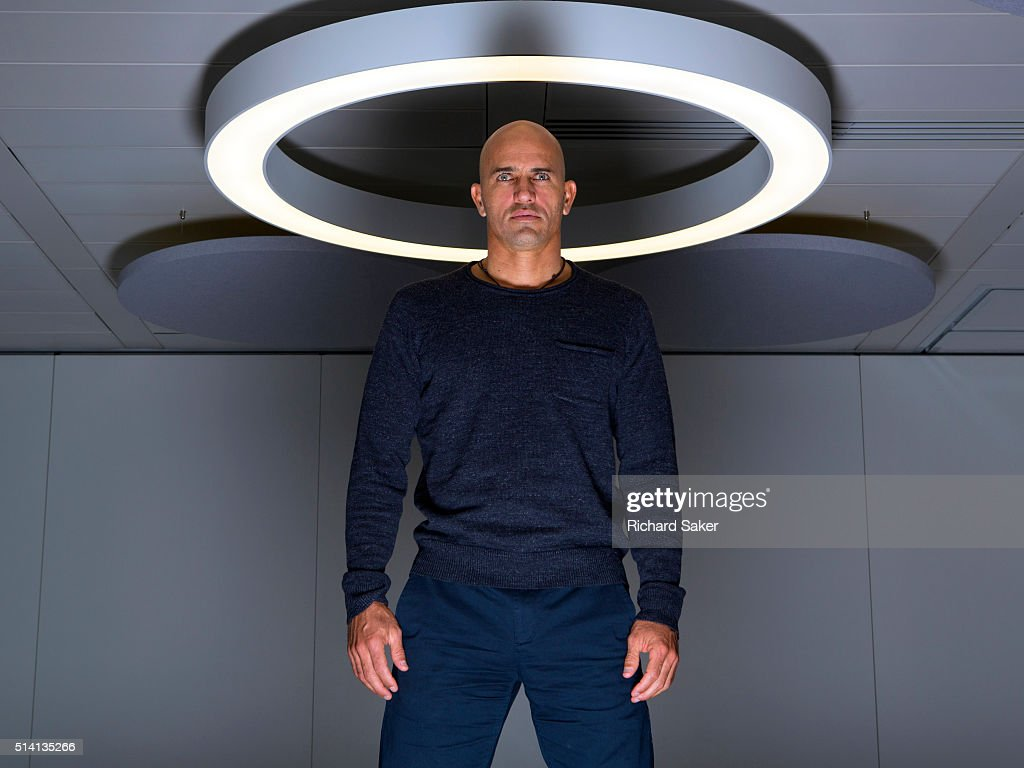 Professional surfer Kelly Slater is photographed for the Observer on November 3, 2015 in London, England.