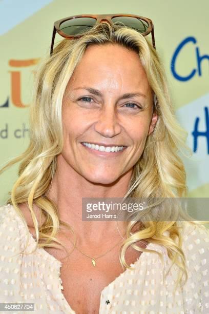 Professional surfer Lisa Andersen arrives at Children Mending Hearts' 6th Annual Fundraiser 'Empathy Rocks A Spring Into Summer Bash' on June 14 2014...