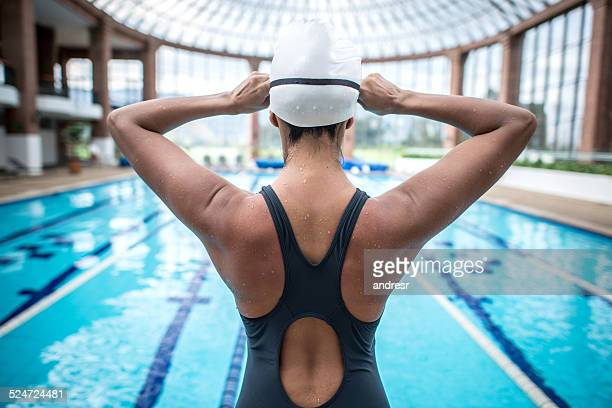 nuotatore professionista - nuoto foto e immagini stock