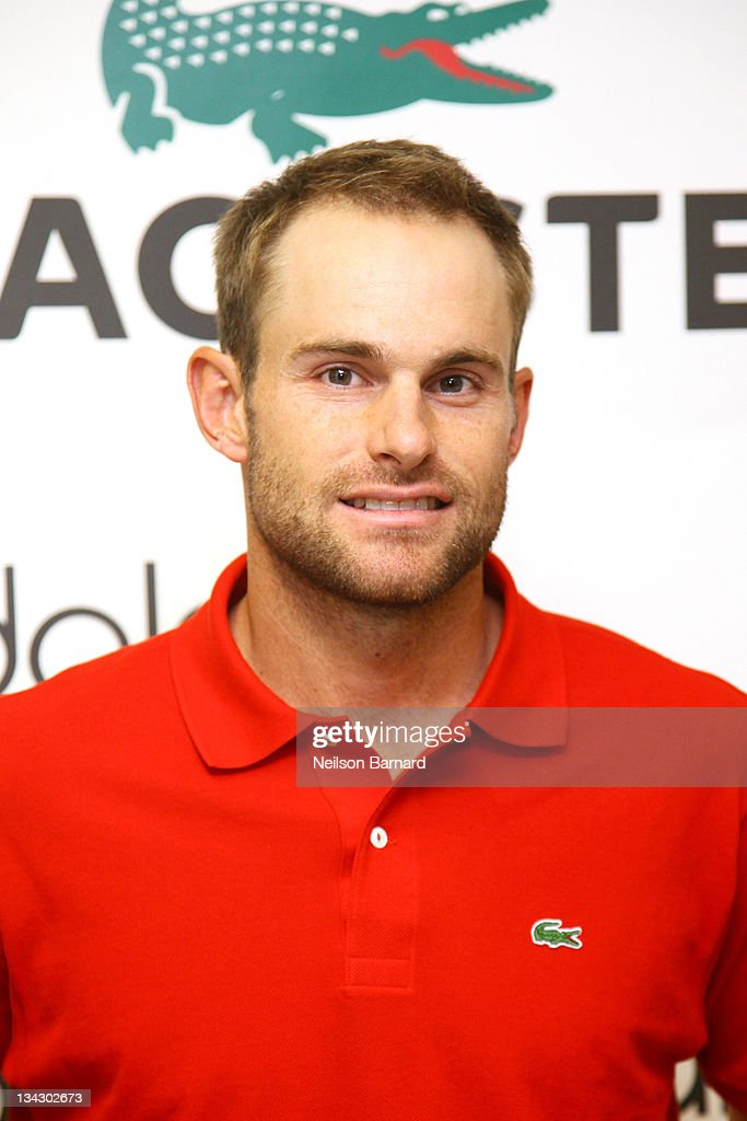 Bloomingdale's 59th St. Welcomes LACOSTE Tennis Champion Andy Roddick