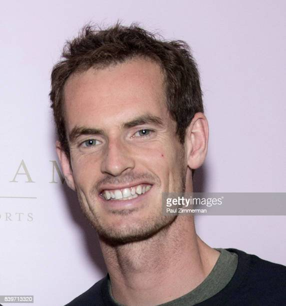 Professional tennis player Andy Murray attends the US Open Weekend to Introduce The New Roche Bobois Presidential Suite At Langham Place New York on...