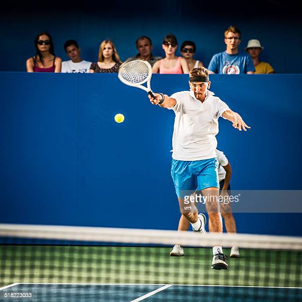Professional Tennis Player In Action