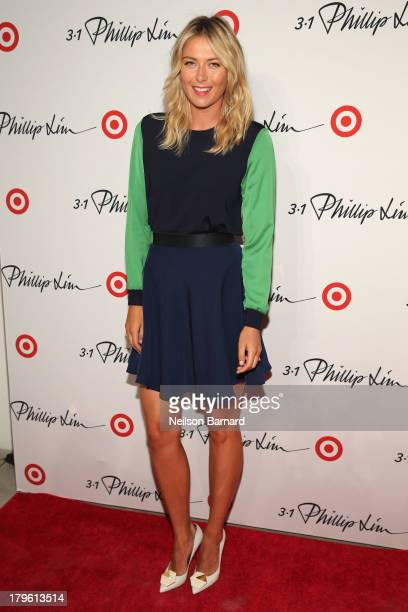 Professional tennis player Maria Sharapova attends 3.1 Phillip Lim for Target launch event on September 5, 2013 in New York City.