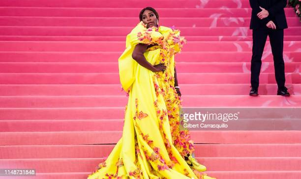 Professional tennis player Serena Williams is seen arriving to the 2019 Met Gala Celebrating Camp: Notes on Fashion at The Metropolitan Museum of Art...