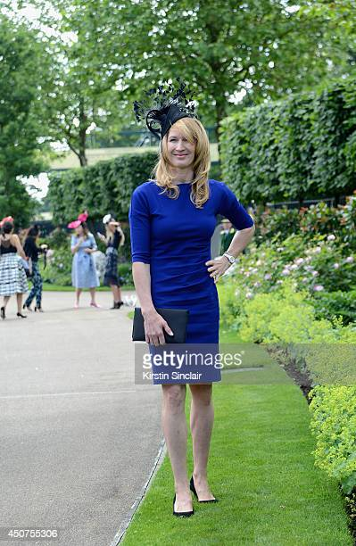Professional Tennis player Stefanie 'Steffi' Graf attends day one of Royal Ascot at Ascot Racecourse on June 17 2014 in Ascot England