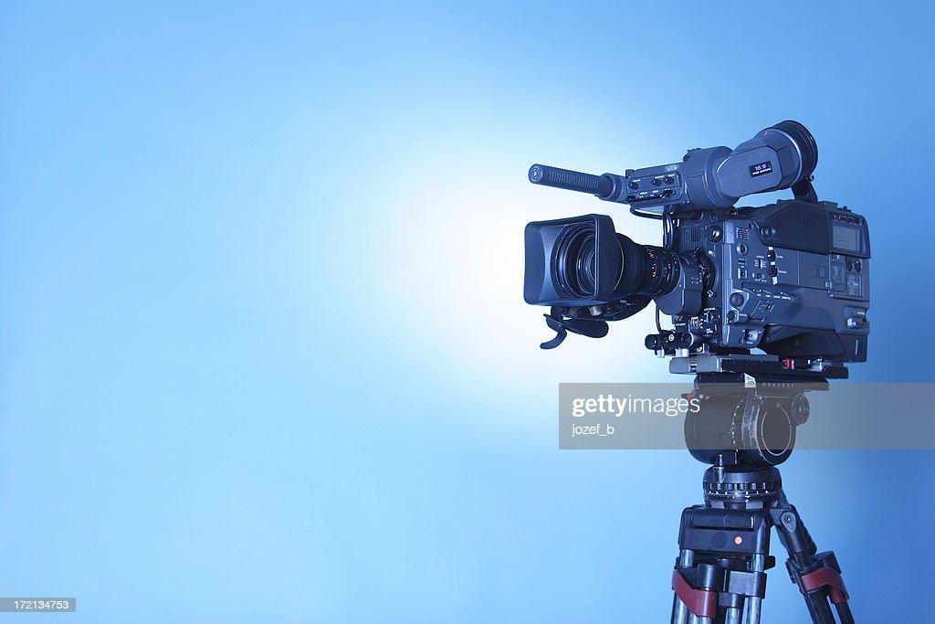 プロのテレビキャム-3 (cl.パス : ストックフォト