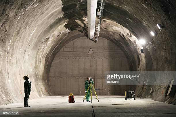 professional underground workers - geology stock pictures, royalty-free photos & images