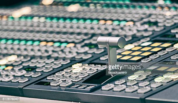 Professional video mixing console