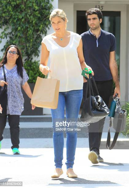 Professional volleyball player Gabrielle Reece is seen on April 02 2019 in Los Angeles CA