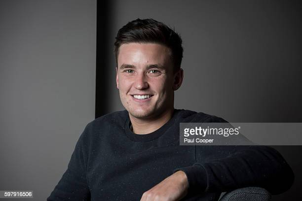 Professional wheelchair tennis player Gordon Reid is photographed on February 3 2016 in London England