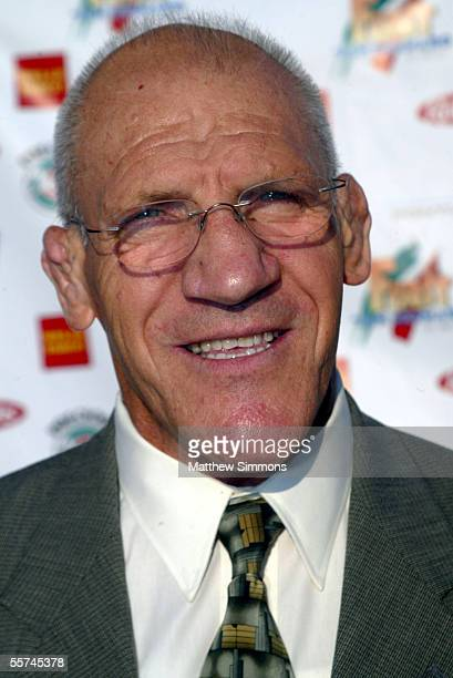Professional Wrestler Bruno Sammartino arrives to the Feast of San Gennaro on September 22, 2005 in Hollywood, California.